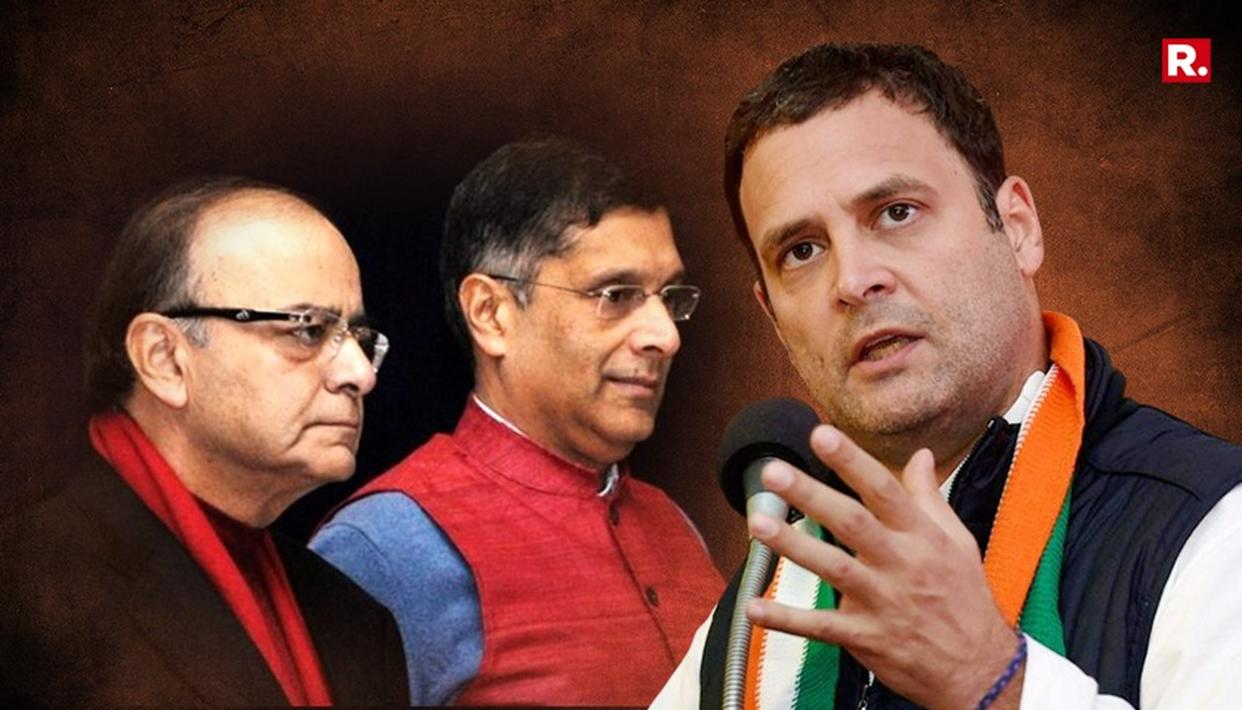 CONG POLITICISES SUBRAMANIAN'S DEPARTURE