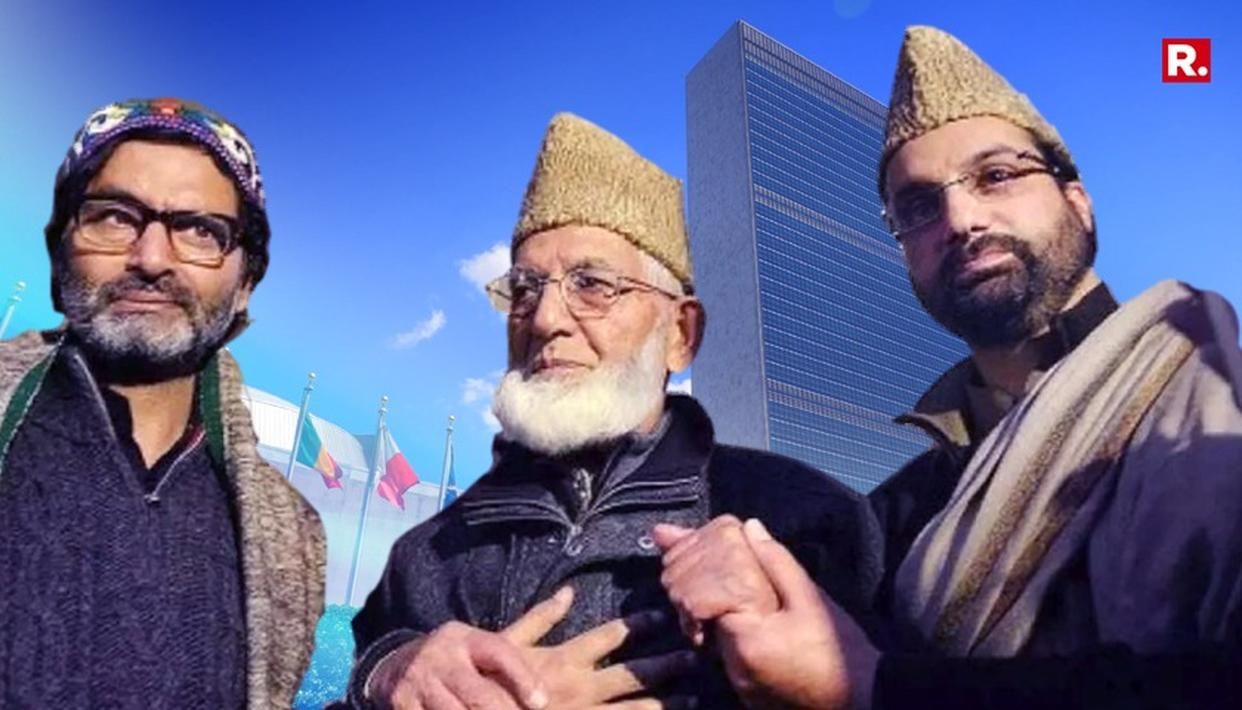 SEPARATIST THREE WRITE TO UN; ECHO PAK