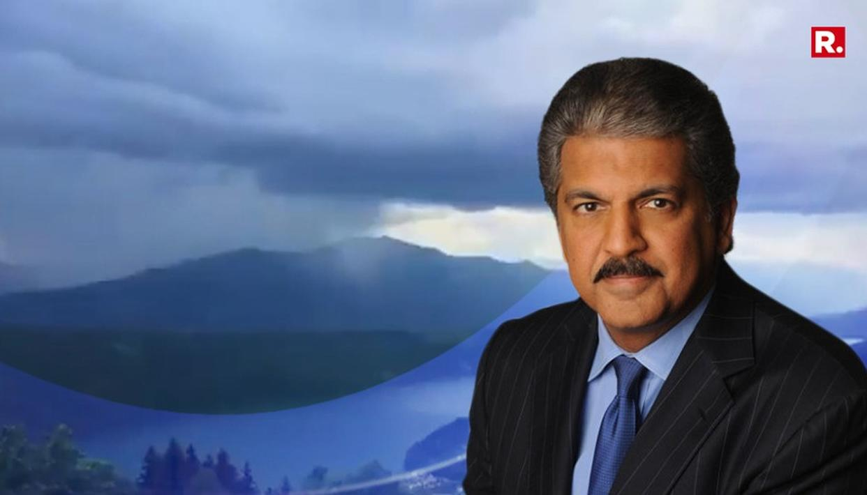 UNMISSABLE: ANAND MAHINDRA'S CLOUDBURST VIDEO