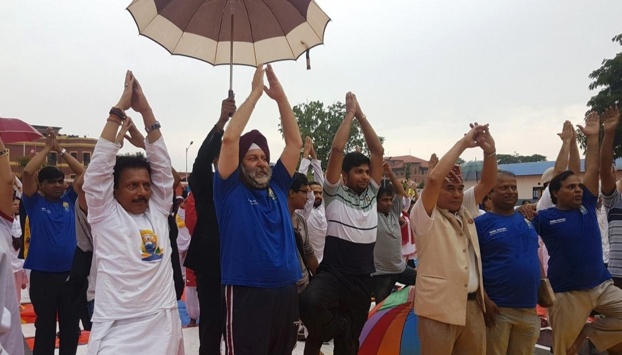 NEPAL OBSERVES YOGA DAY