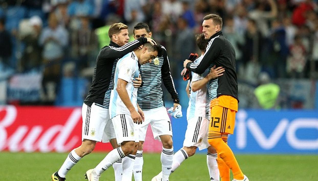 WATCH: SILENCE WITNESSED AFTER ARGENTINA'S LOSS