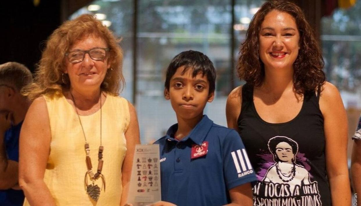 R PRAGGNANANDHAA BECOMES WORLD'S SECOND YOUNGEST GRANDMASTER