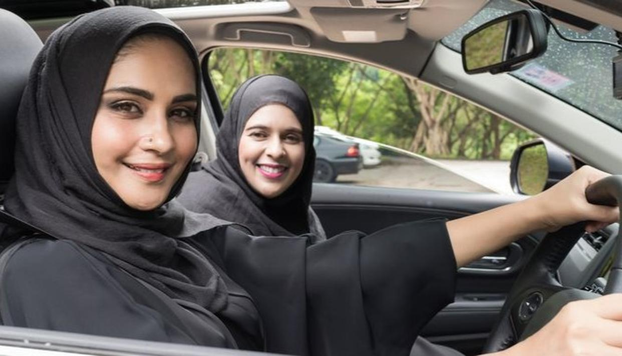 WOMEN DROVE IN SAUDI FOR THE FIRST TIME AFTER YEARS