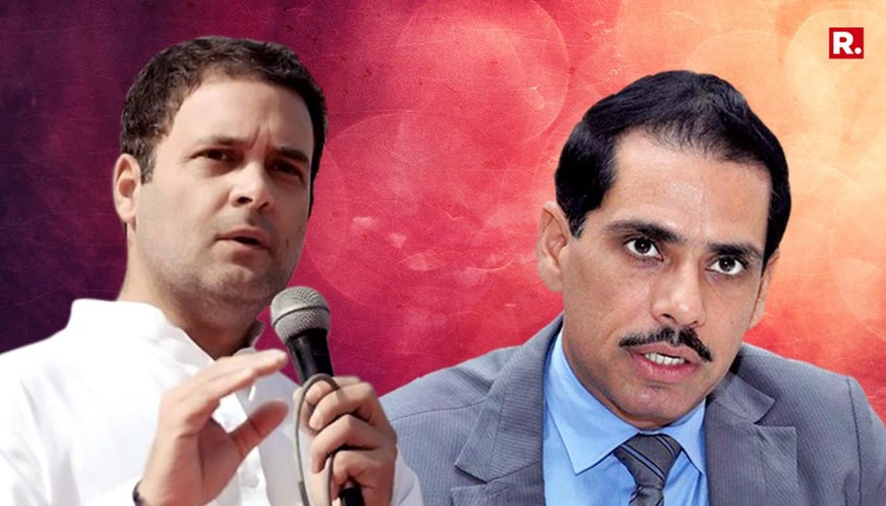WATCH: CONGRESS DUMPS VADRA?