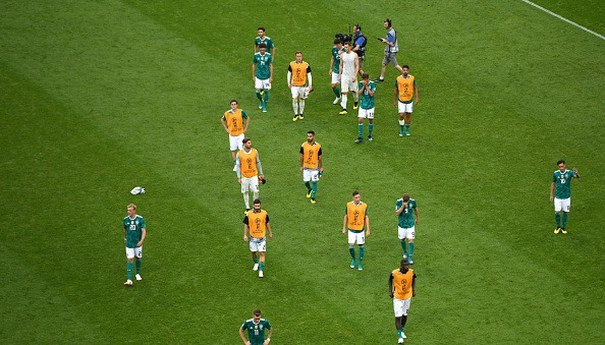WORLD CUP: GERMANY FAIL TO DEFEND THEIR TROPHY