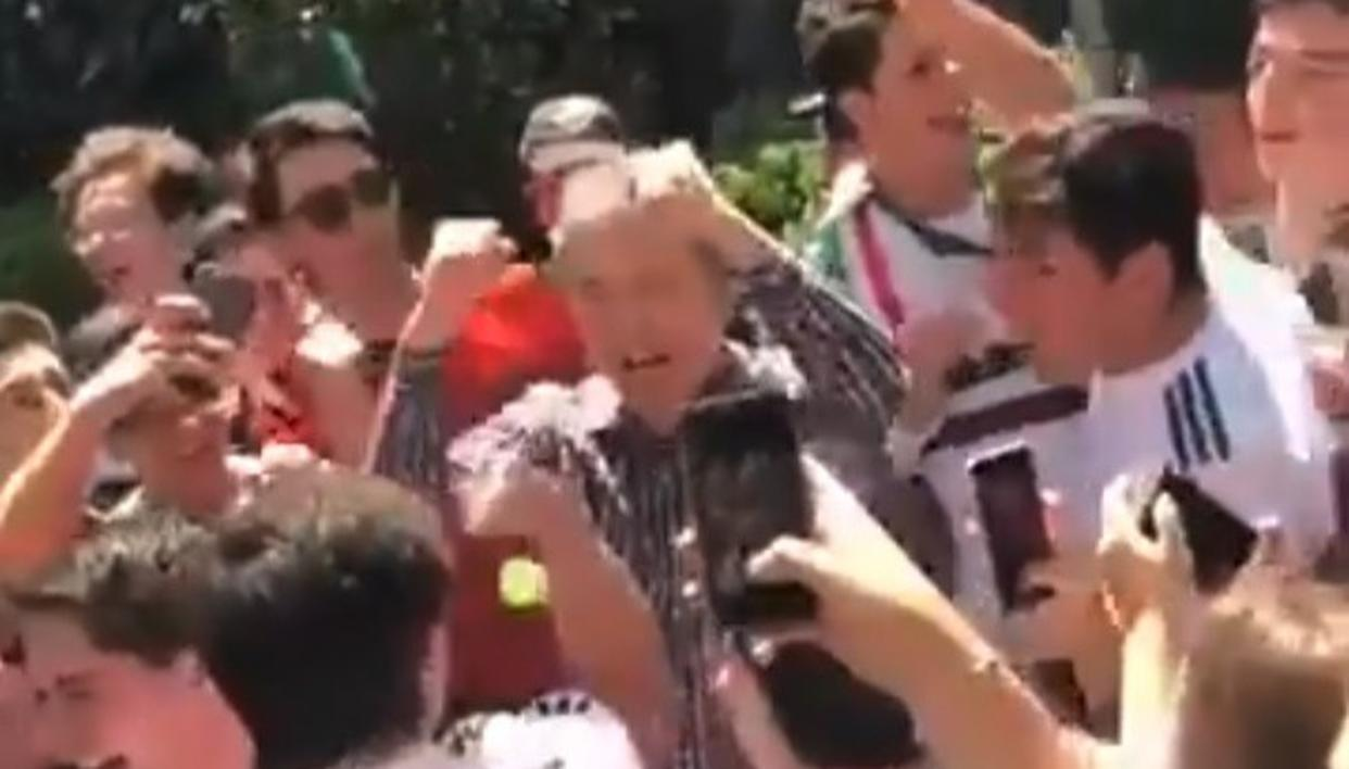 "WATCH: MEXICO FANS CELEBRATE KOREA""S WIN"