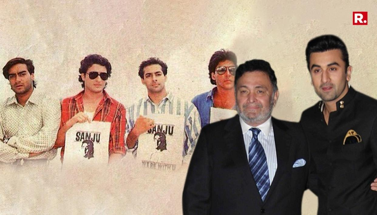 RISHI KAPOOR'S REACTION TO 'SANJU'