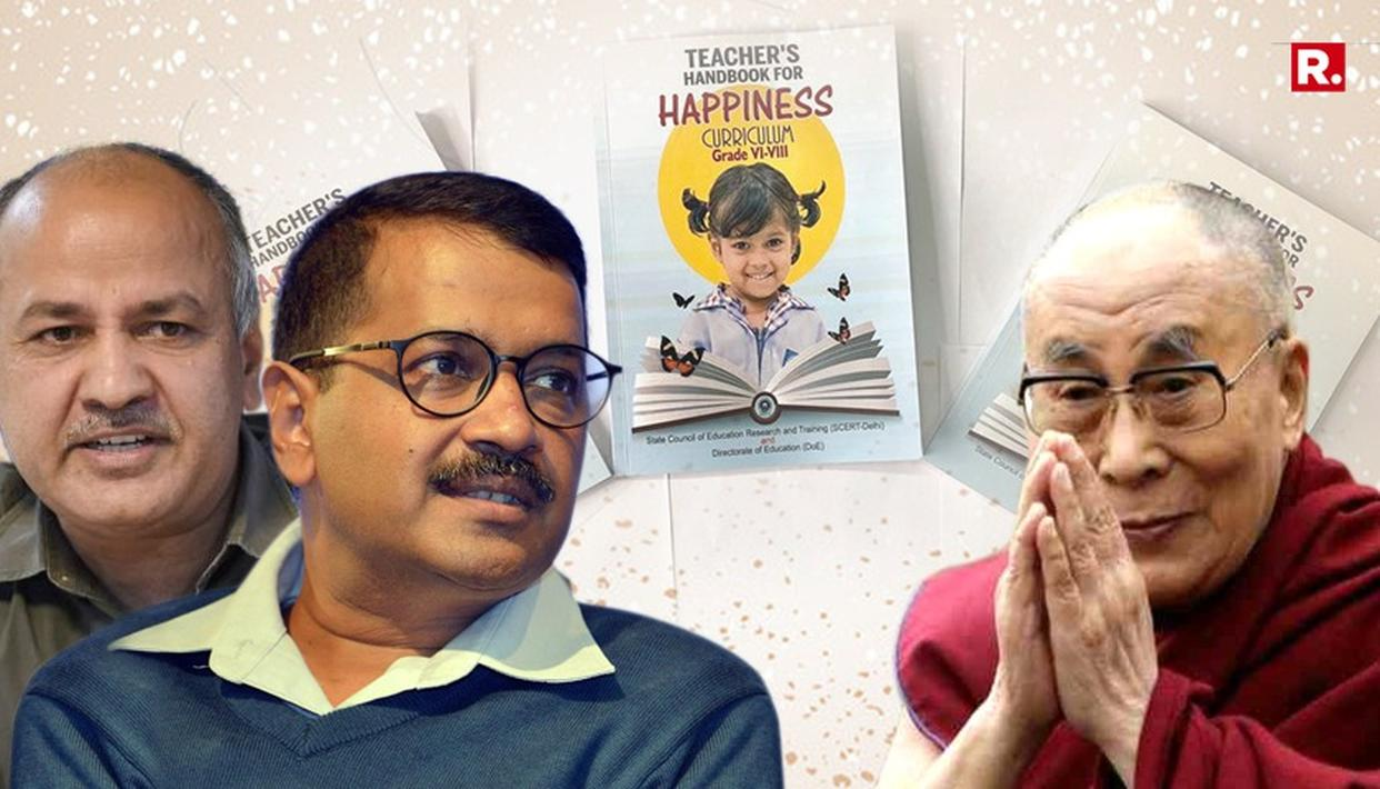 KEJRIWAL GOVT LAUNCHES 'HAPPINESS CURRICULUM'