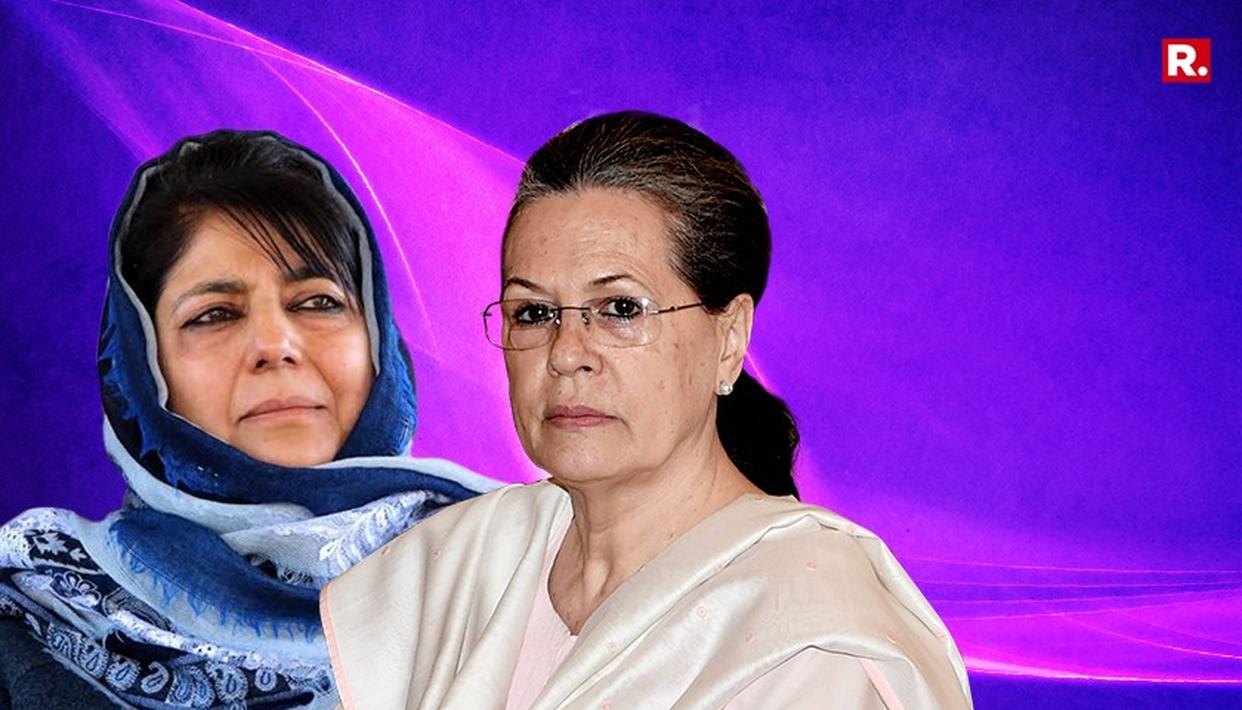 MEHBOOBA TO MEET SONIA. ALLIANCE ON CARDS?