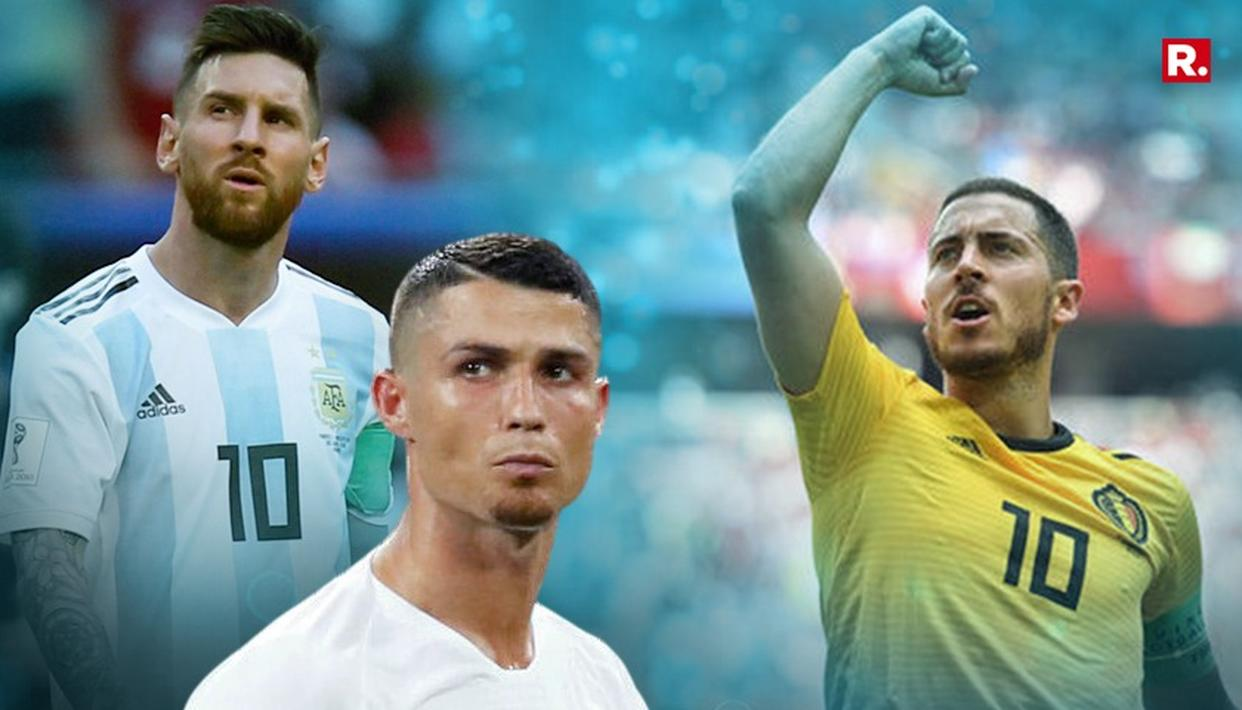 WORLD CUP: HAZARD HAPPY ABOUT RONALDO, MESSI'S ELIMINATION