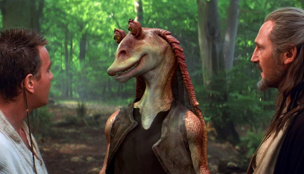 JAR JAR ACTOR BREAKS SILENCE ON 20 YEARS OF HATE
