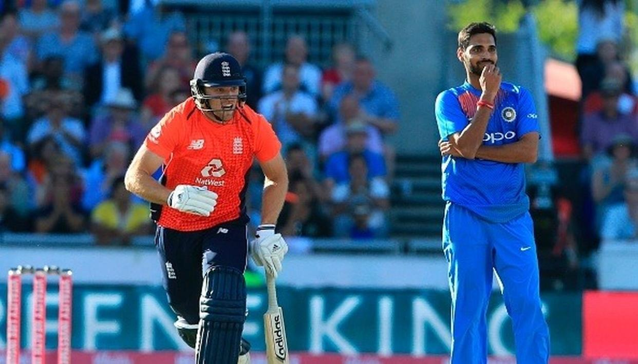 ENGLAND PLAYER HITS OUT AT INDIAN BOWLERS' TACTICS