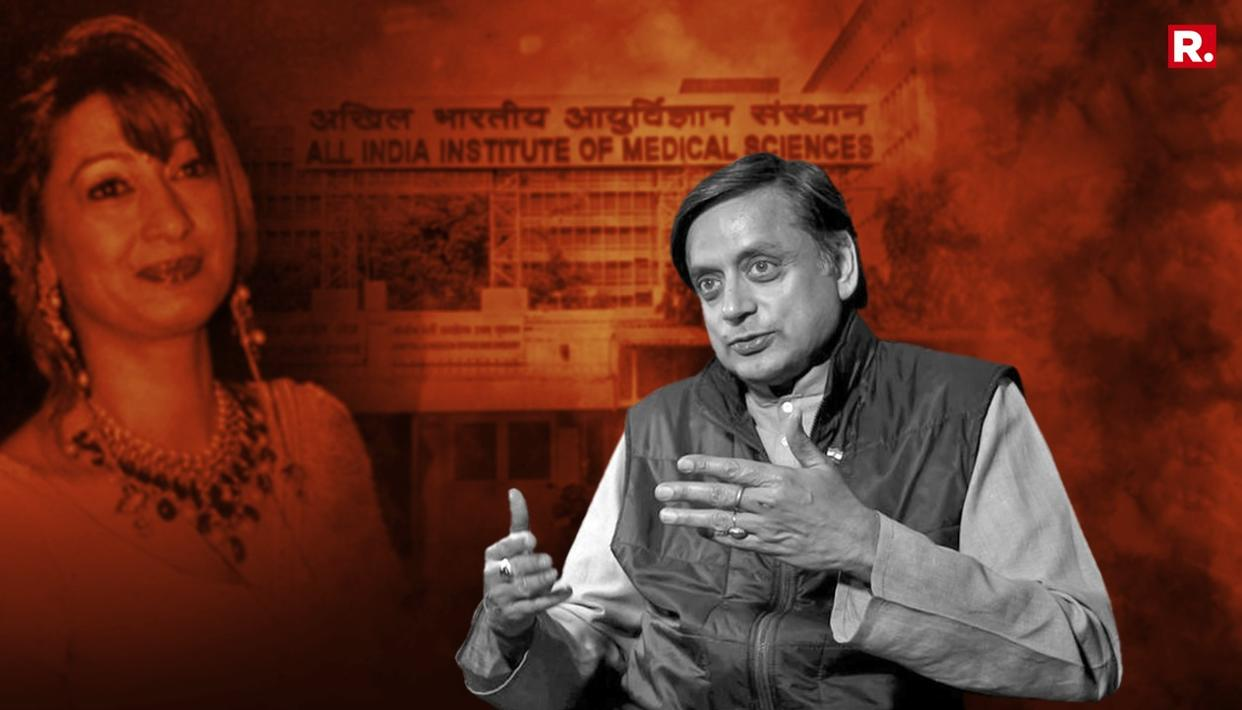 AFTER COURT APPEARANCE, THAROOR SPEAKS