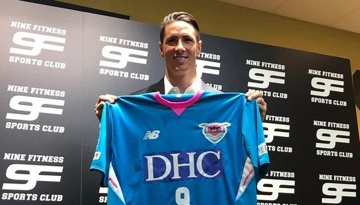 TORRES JOINS JAPANESE CLUB