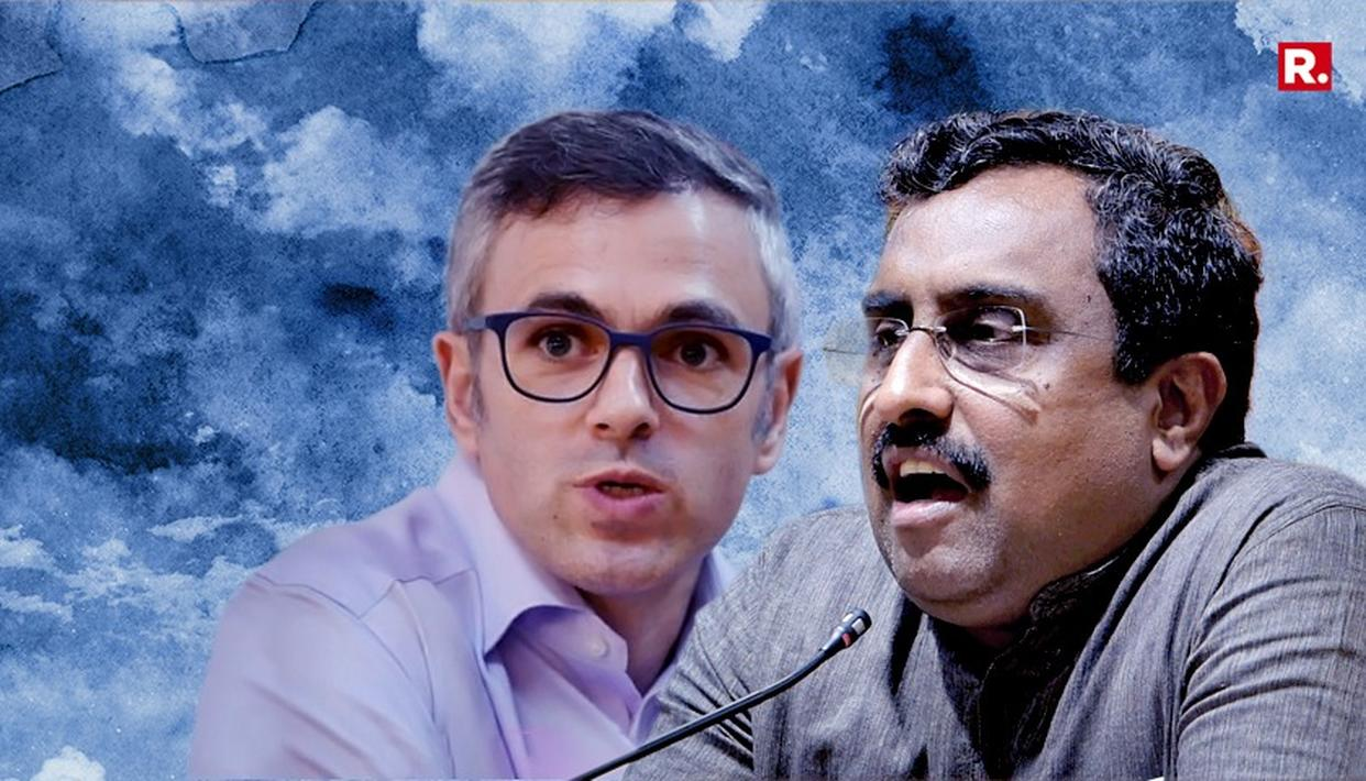 TWITTER WAR ERUPTS BETWEEN OMAR-RAM MADHAV