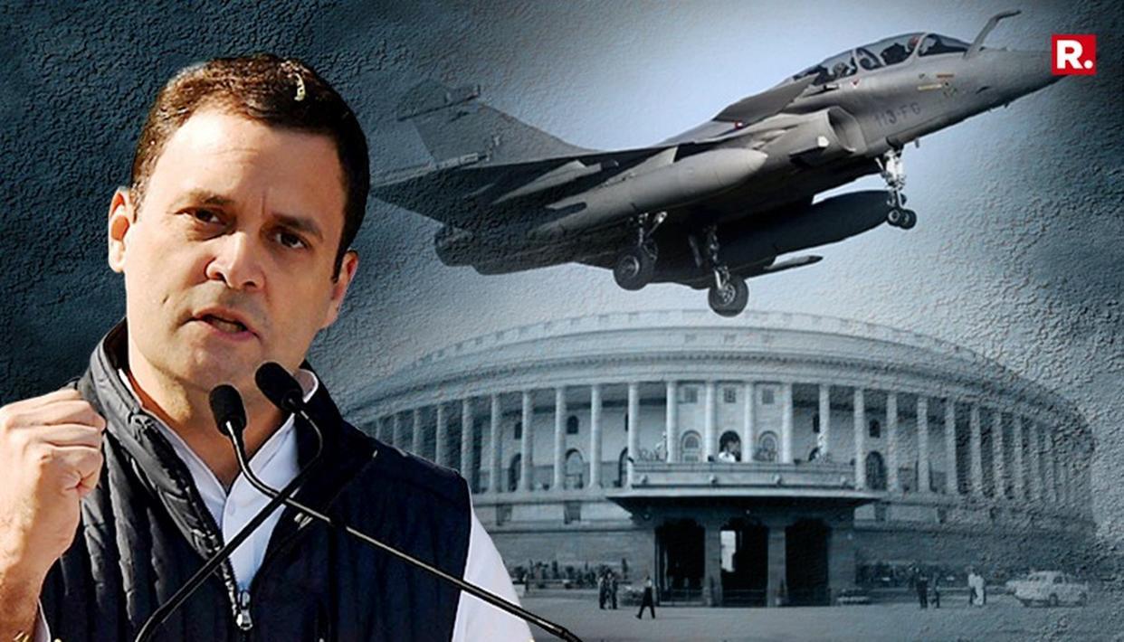 संसद में राफेल डील पर बयान देकर बुरे फंसे राहुल गांधी, भाषण सुनकर फ्रांस सरकार ने जारी किया स्टेटमेंट