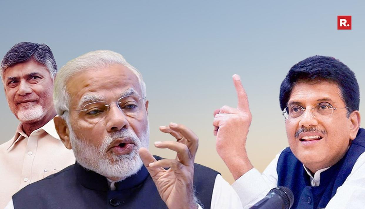TDP TO MOVE PRIVILEGE MOTION AGAINST PM AND PIYUSH GOYAL