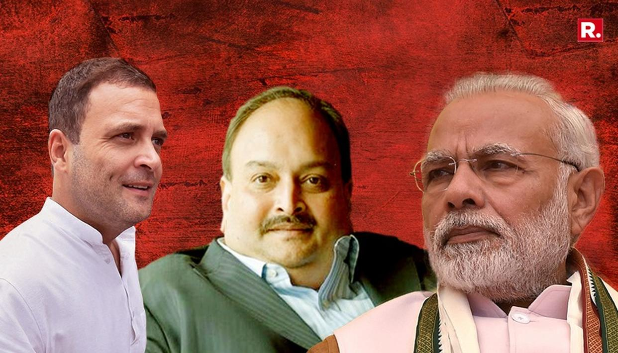 WATCH: GOVT, CONG QUESTION AGENCIES OVER REPUBLIC TV'S CHOKSI SCOOP