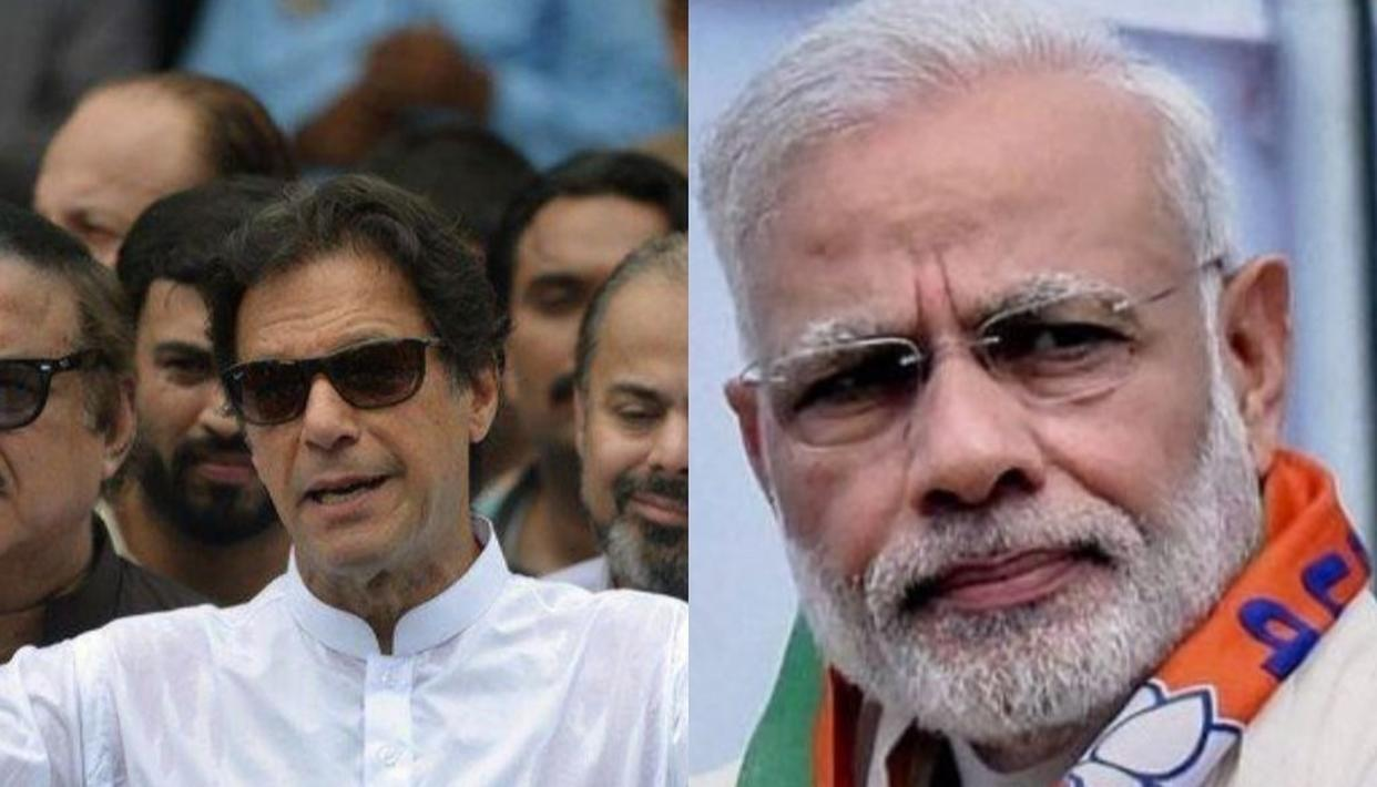 PM MODI SPEAKS TO IMRAN KHAN