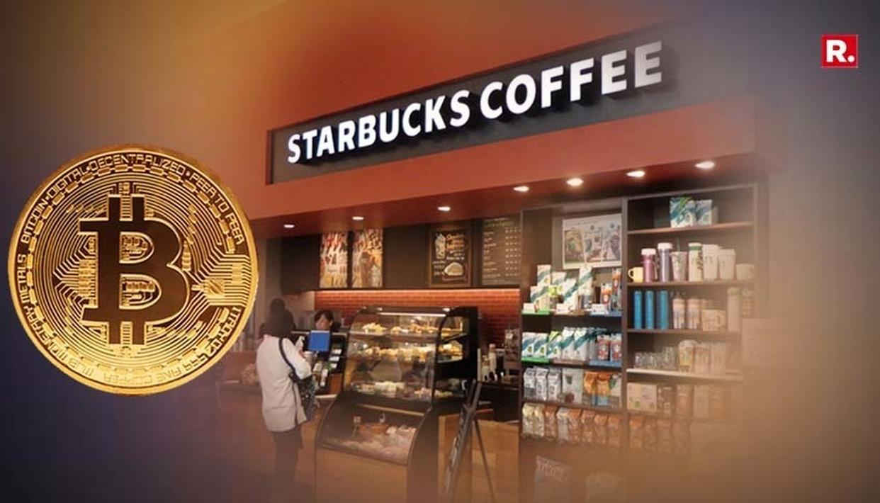 STARBUCKS MIGHT SOON ACCEPT CRYPTOCURRENCIES