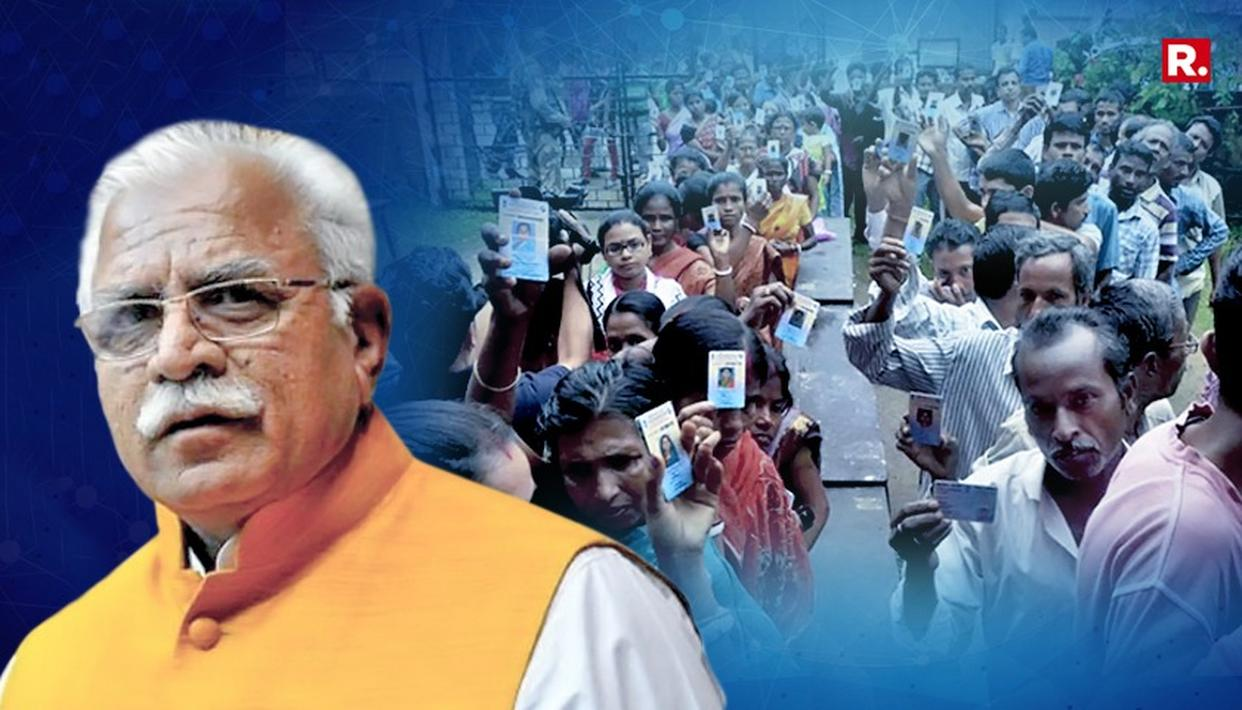 MANOHAR LAL KHATTAR DEMANDS NRC AT NATIONAL LEVEL