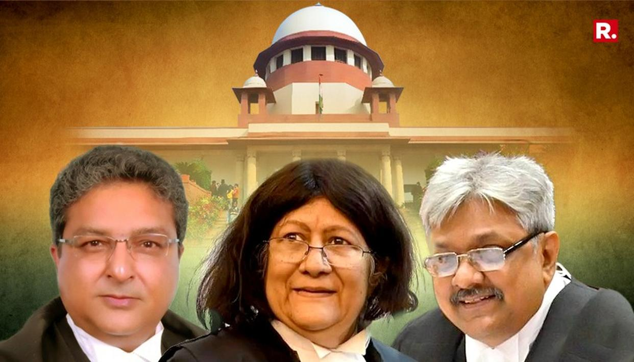THREE HC JUDGES SWORN-IN AS SC JUDGES