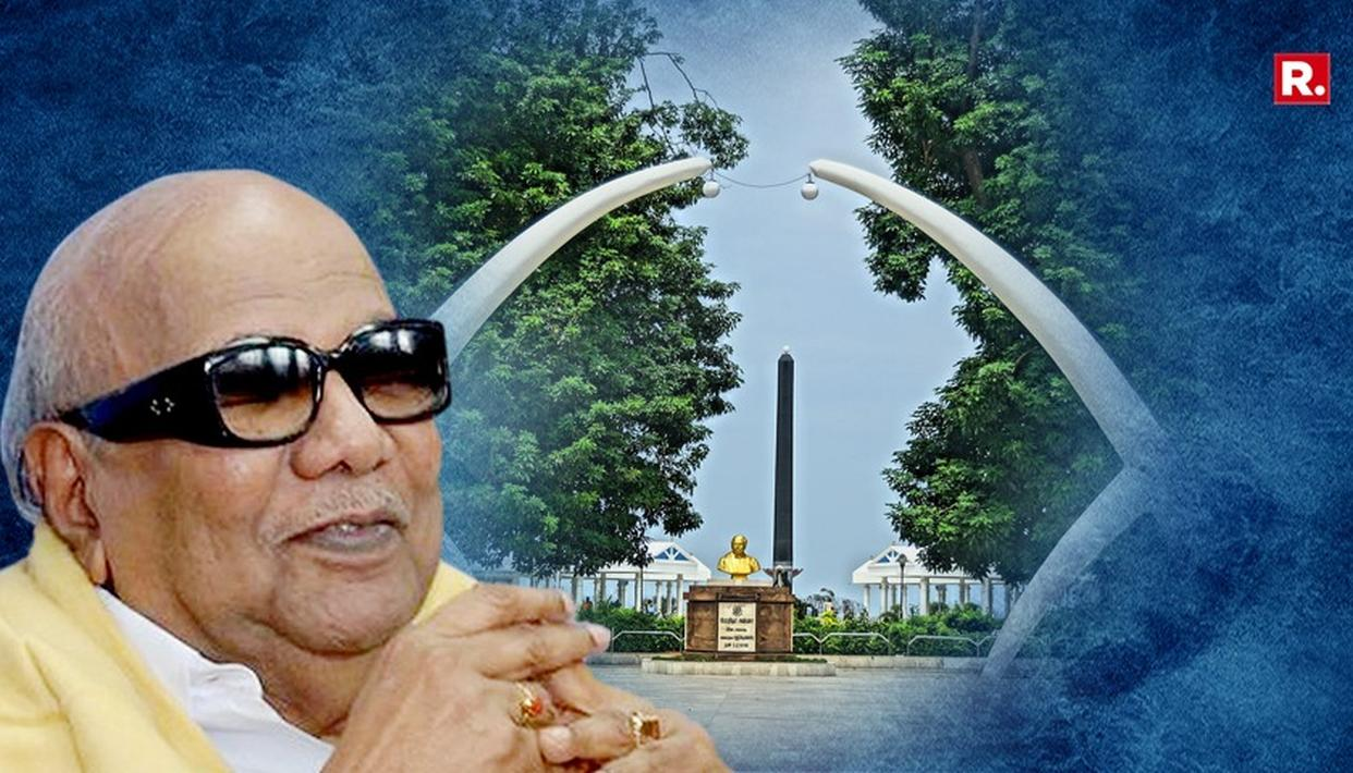 MARINA BURIAL FOR KALAIGNAR: LIVE UPDATES