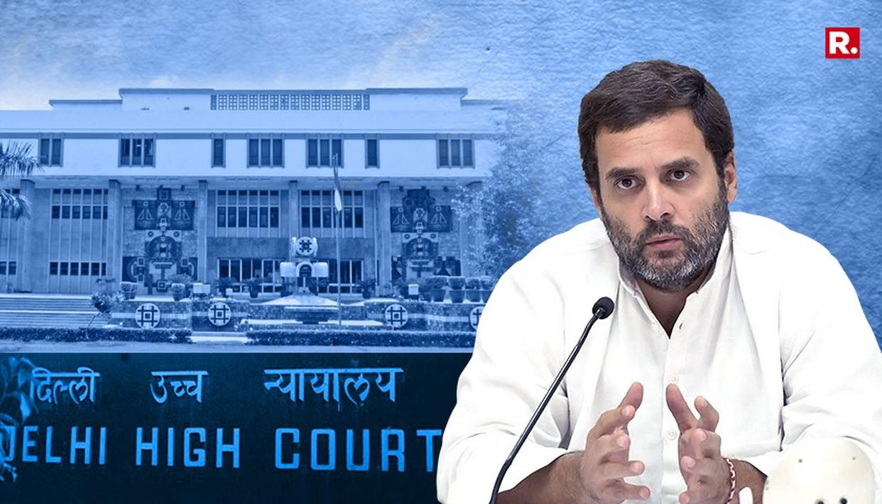 RAHUL GANDHI USES 'VICTIM CARD' IN DELHI HIGH COURT