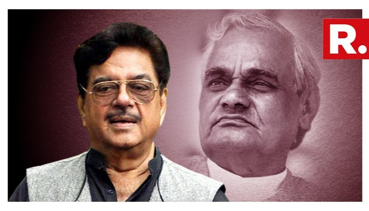 WATCH: WHEN FORMER PM VAJPAYEE STOPPED SHATRUGHAN SINHA FROM DOING A FILM