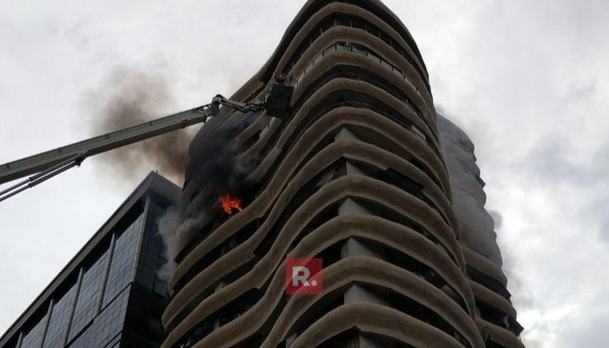 WATCH: FIRE BREAKS OUT IN PAREL
