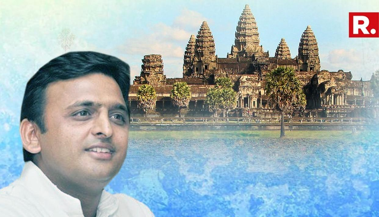 AKHILESH PROMISES 'LORD VISHNU' CITY