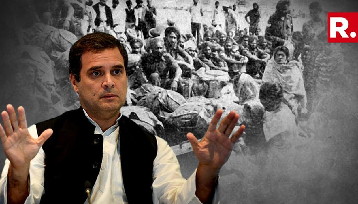 RAHUL WON'T APOLOGIZE FOR 1984 RIOTS