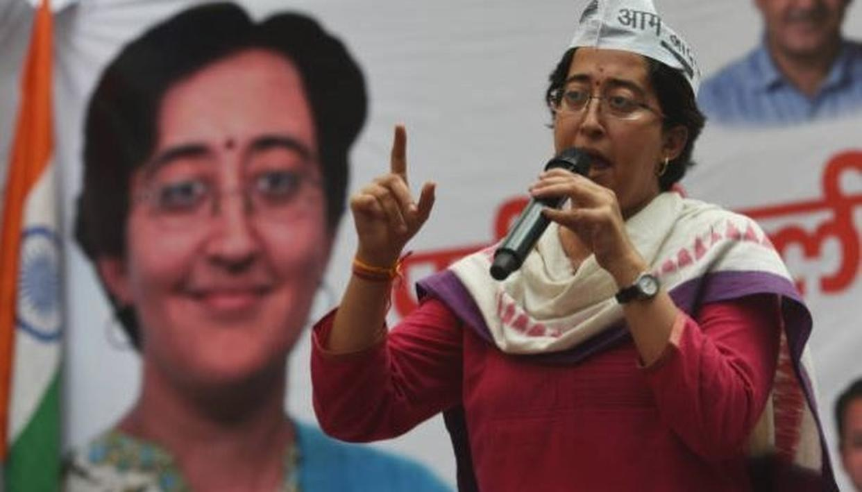 ATISHI MARLENA DROPS HER SURNAME