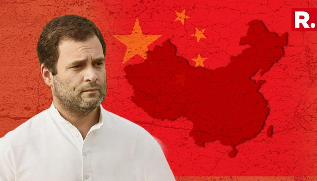 SENSATIONAL: RAHUL WANTED CEREMONIAL SEND OFF FROM CHINESE AMB, SAYS BJP
