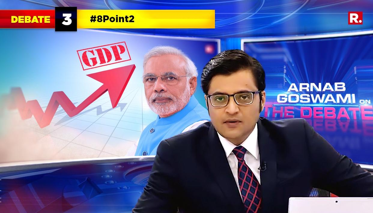 """THIS IS THE PRO COLLAPSE INDIA BRIGADE. THEY HOPE THAT THE ECONOMY WILL COLLAPSE"" SAYS REPUBLIC TV CHIEF EDITOR ARNAB GOSWAMI"