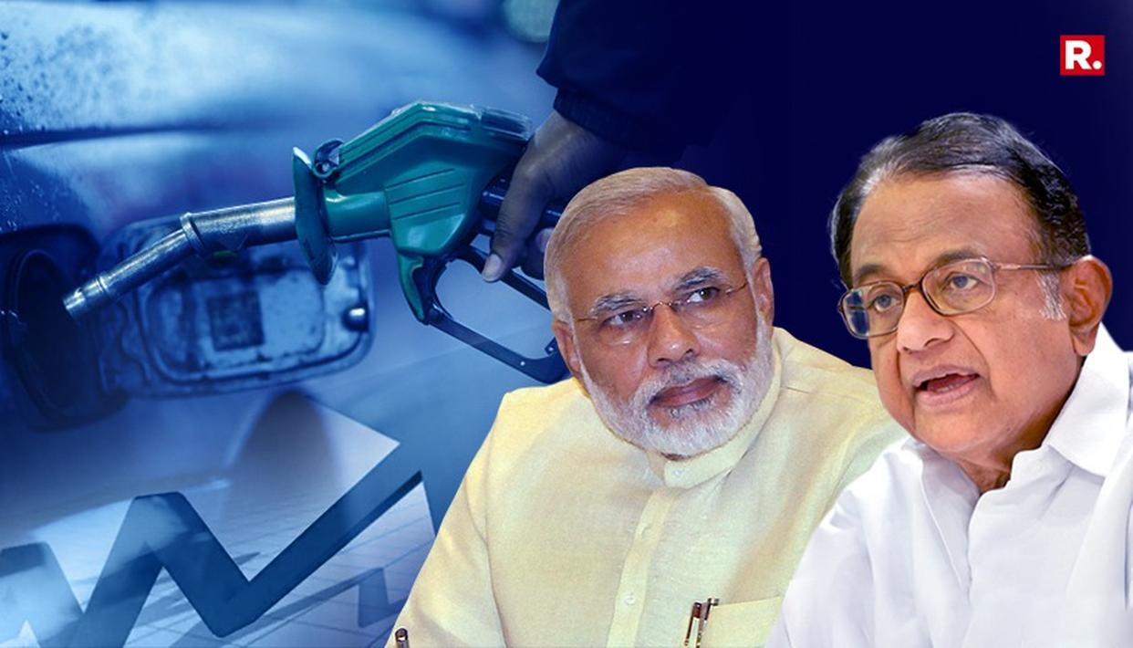 FUEL PRICE HIKE: AS FUEL PRICES HIT A NEW RECORD HIGH, CONG LAUNCHES ATTACK ON BJP