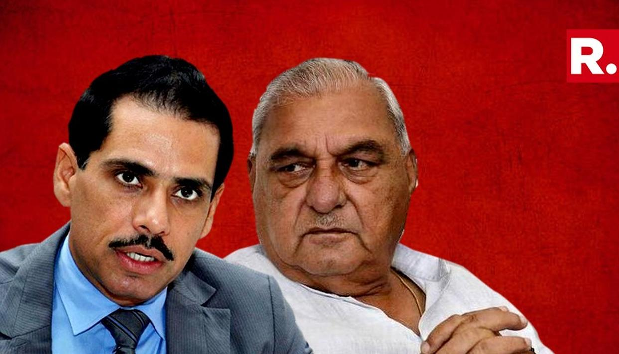 Gurugram Land Case: FIR filed against Robert Vadra, Former Haryana CM Bhupinder Singh Hooda. Full details here