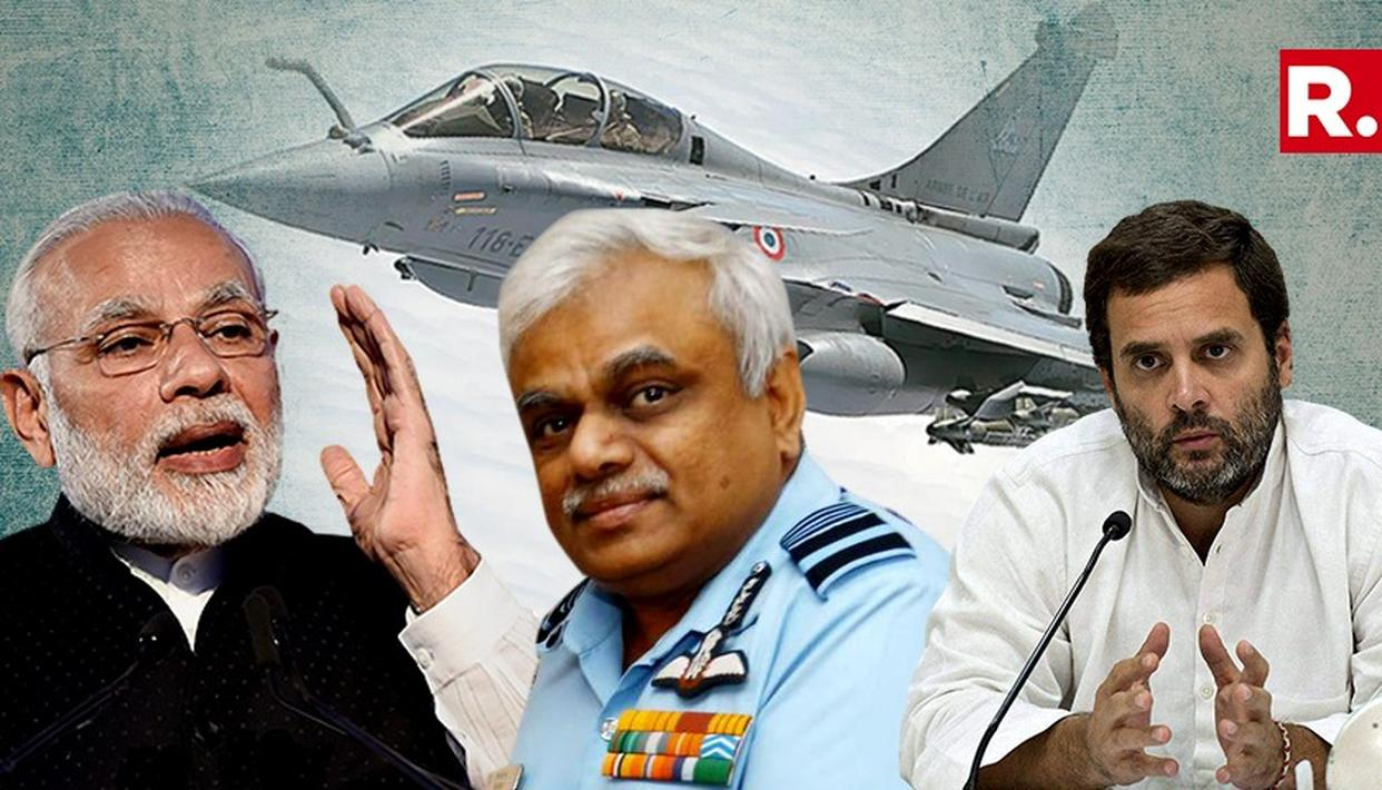 IAF BACKS RAFALE; SAYS CRITICS DON'T HAVE INFORMATION