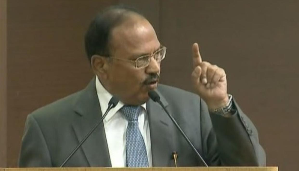NSA DOVAL: SEPARATE CONSTITUTION FOR J&K AN ABERRATION