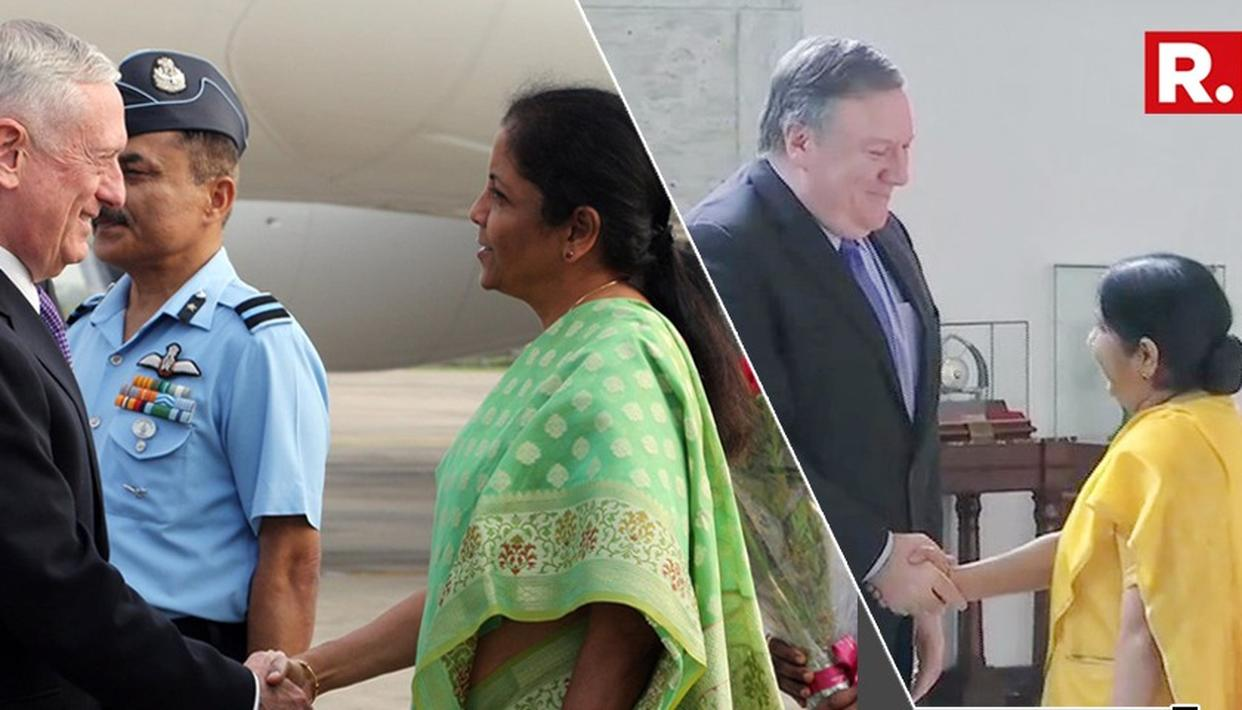 INDIA AND US HOLD '2+2' DIALOGUE: LIVE UPDATES
