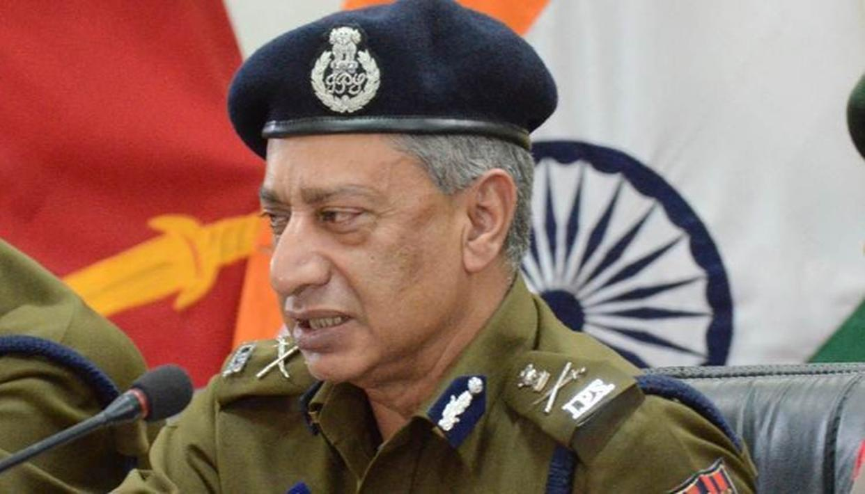 SP VAID REMOVED AS DGP OF J&K