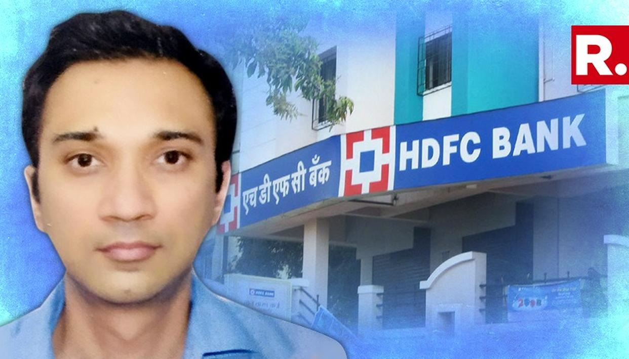 HDFC BANK VICE PRESIDENT GOES MISSING