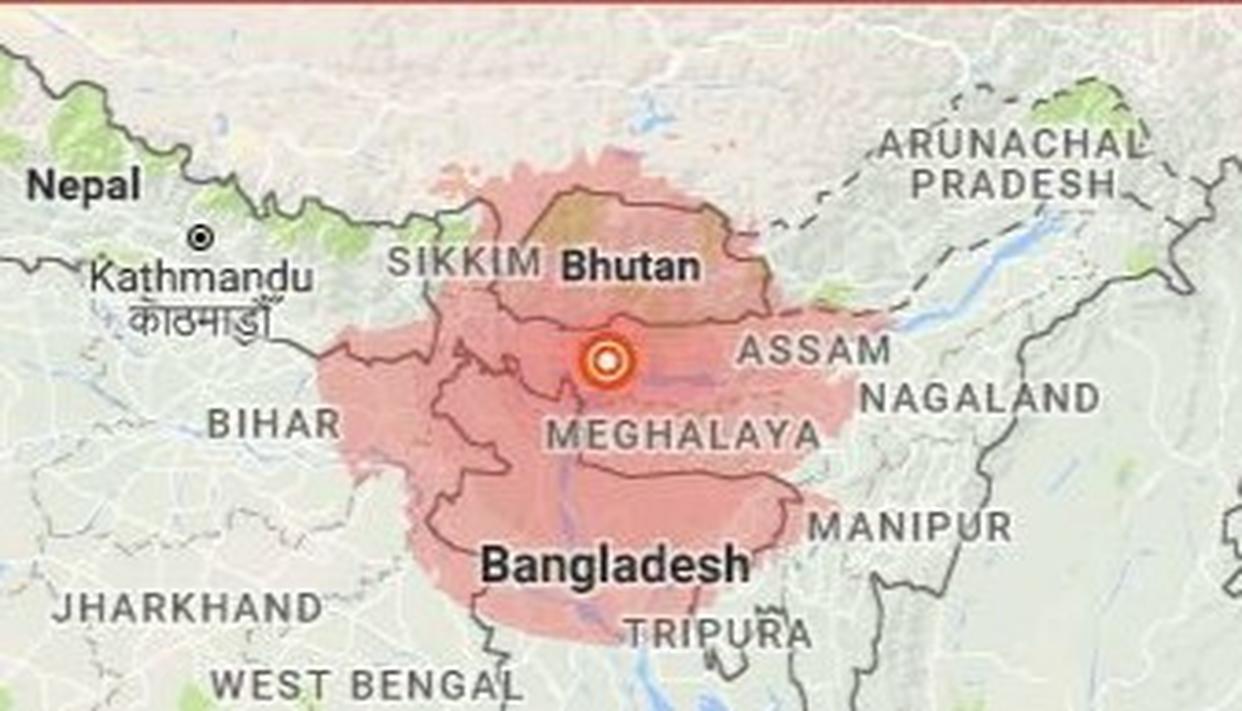 MAGNITUDE 5.6 EARTHQUAKE RATTLES NORTH-EAST