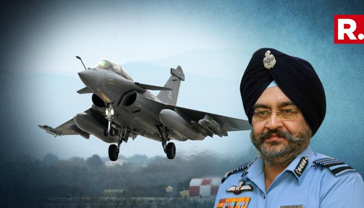 MASSIVE: IAF CHIEF BACKS RAFALE DEAL