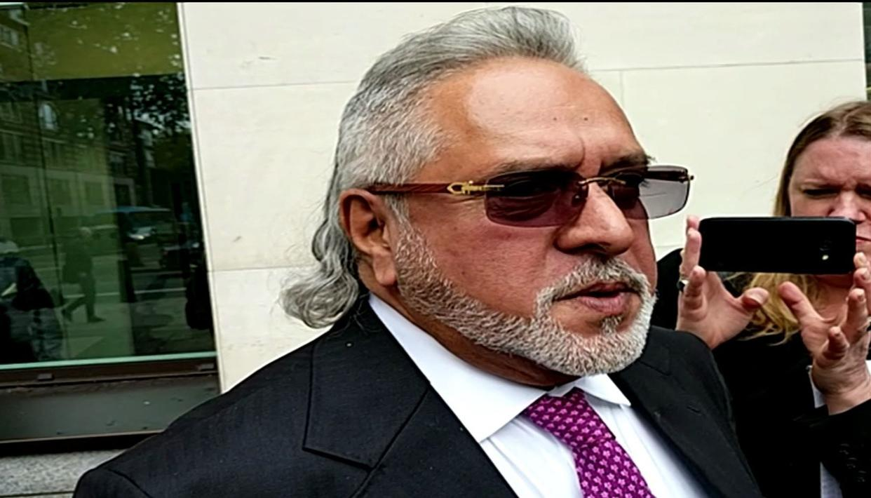 """I MET THE FINANCE MINISTER BEFORE I LEFT"": MALLYA"