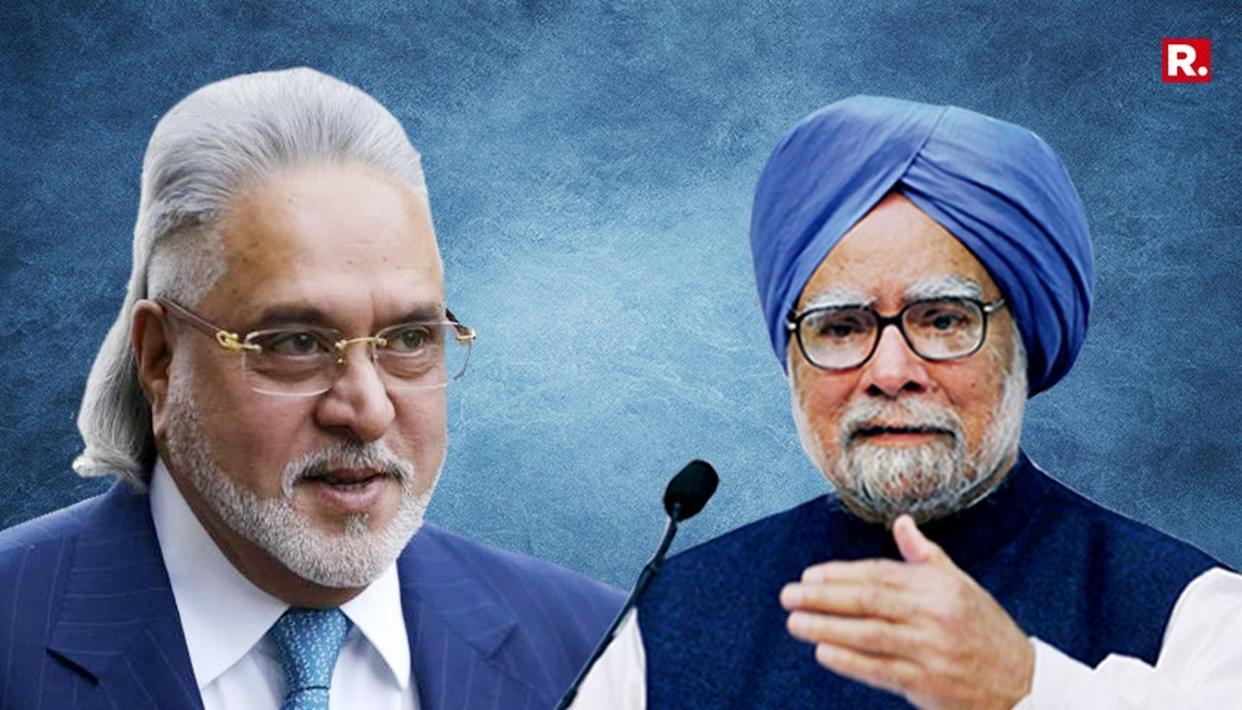 Mallya's thank you note to Manmohan Singh