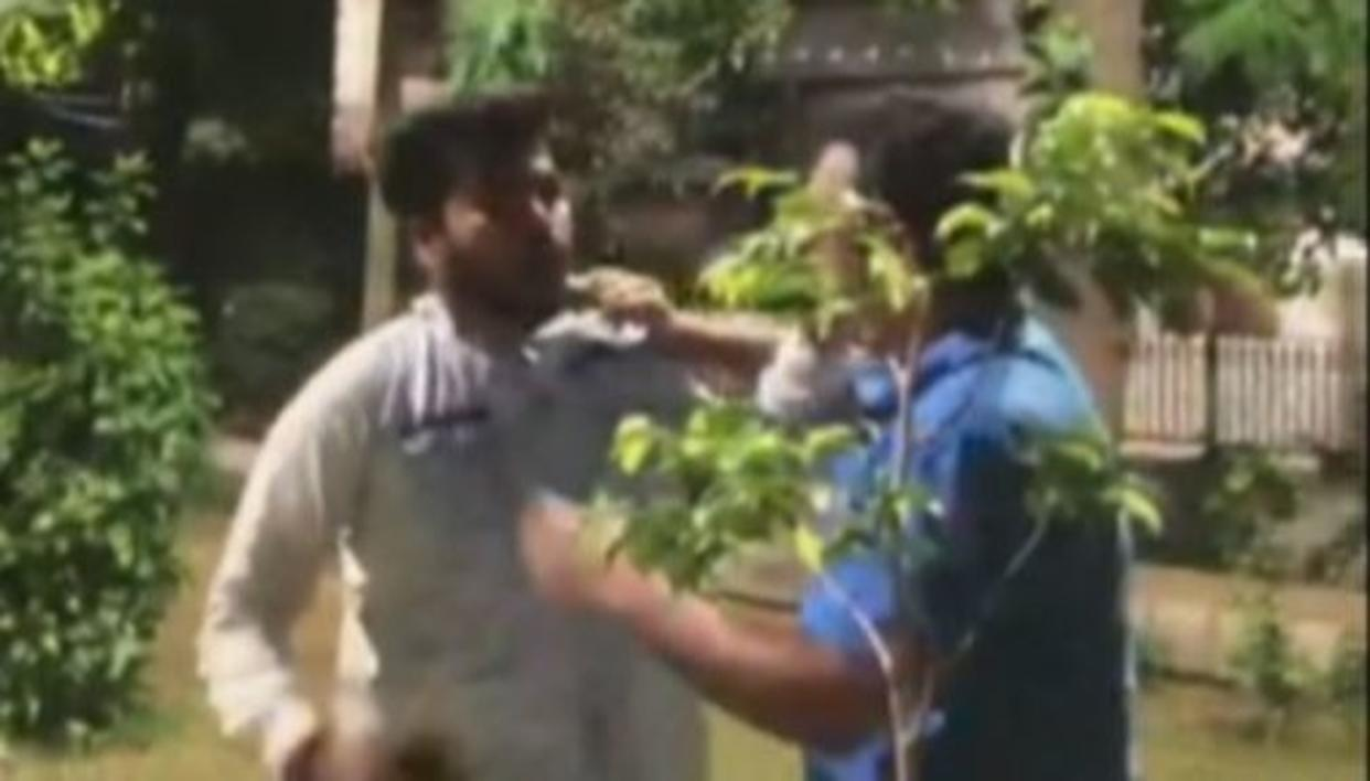 DELHI COP'S SON CAUGHT ON TAPE THREATENING WOMAN'S FAMILY