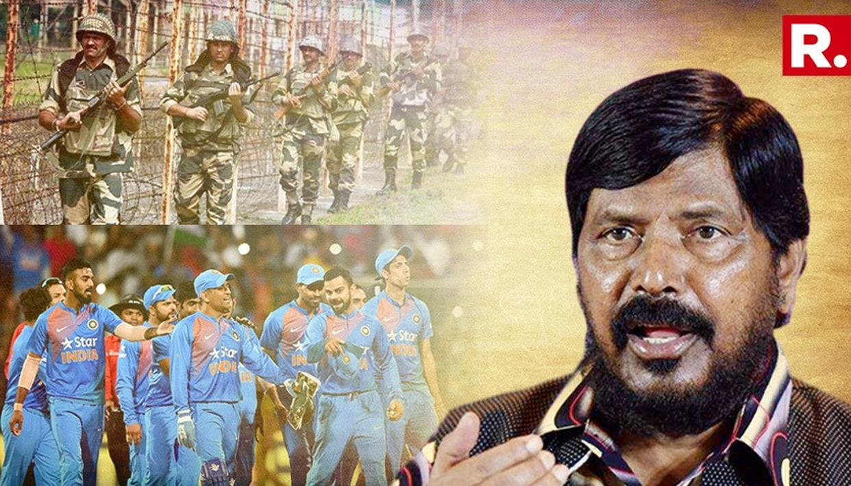 UNION MINISTER CALLS FOR RESERVATION IN ARMY AND CRICKET