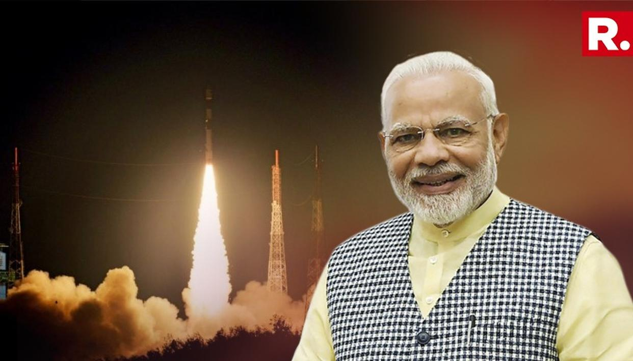SPACE-AGE B'DAY GIFT & WISHES FOR PM MODI'S 68TH