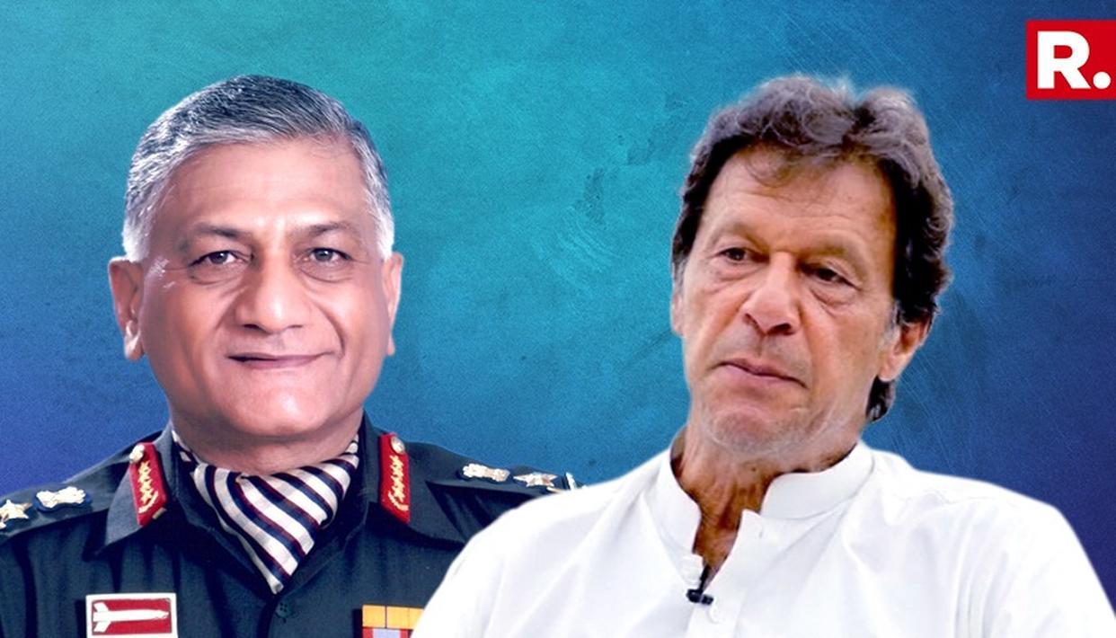 PAK ARMY PROPPING UP IMRAN: MoS GEN VK SINGH